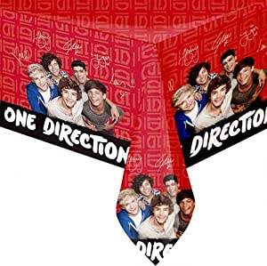 One Direction '1D' Party Accessories Brands Tablecover Plastic by .
