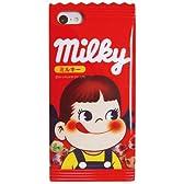 gourmandise グルマンディーズ ミルキー iPhone 5c ダイカット キャラクター ジャケット ペコちゃん MLK-11PK