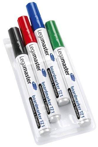 LEGAMASTER Lot de 3 Marqueurs pour Tableau Blanc 1,5 à 4 mm, TZ - 100 ^Le Ausdrucksstarke. pour tableaux blancs et 110594