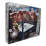 Mattel WWE Wrestling Fan Central Exclusive Tribute To The Troops Ring Includes American Flag Military Vest Helmet...