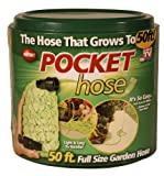 Pocket Hose Telebrands 6847-12 Pocket Hose, 50-Feet