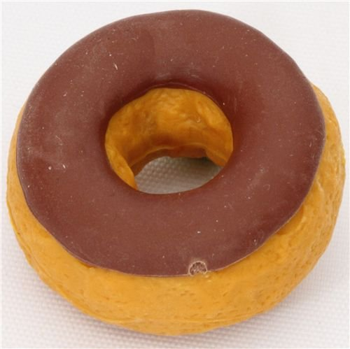 Iwako Chocolate Donut Eraser From Japan By - 1