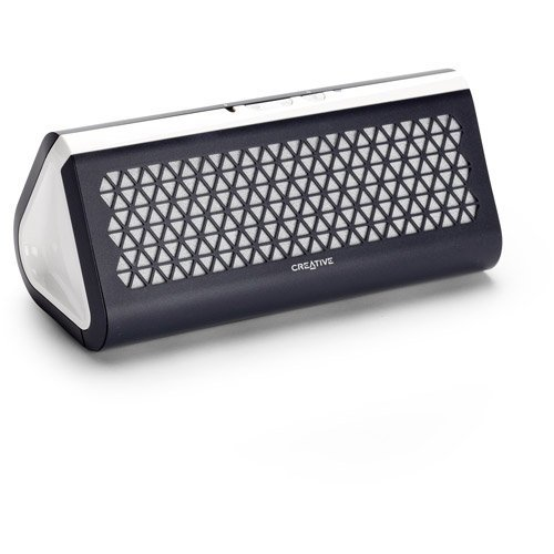 Creative Labs Airwave Portable Bluetooth Wireless Speaker With Nfc, Gray