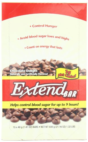 ExtendBar, Chocolate Delight, 1.41-Ounce Bars (Pack of 15)