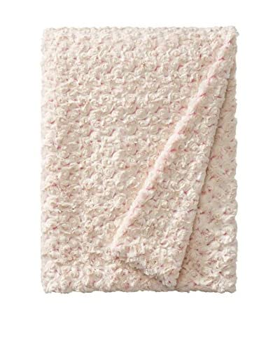 Tourance Rosebud Throw, Cream/Pink