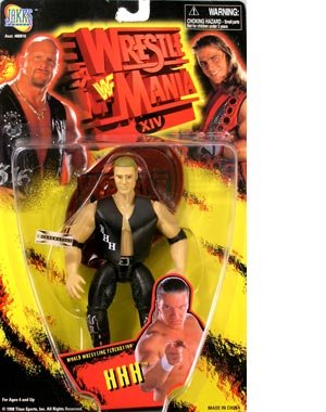 WWF Wrestle Mania XIV HHH by Jakks Pacific 2002