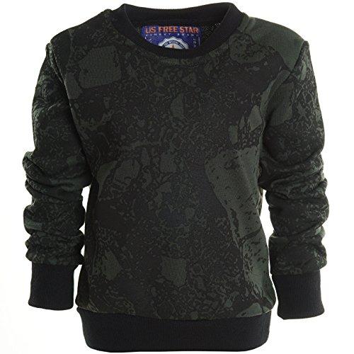 bezlit-maglia-camicia-basic-collo-a-u-maniche-lunghe-ragazzo-nero-14-anni