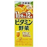 伊藤園 ビタミン野菜 200ml 紙パック96本入