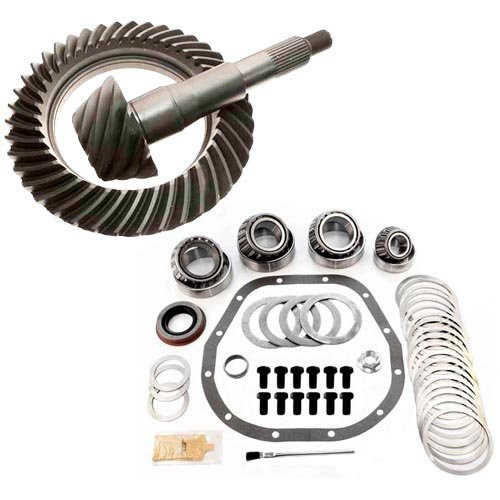 3.55 RING AND PINION & MASTER BEARING INSTALL KIT - FORD STERLING 10.25 & 10.5 (Bearing Install compare prices)