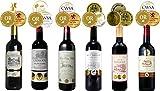 金賞受賞 フランスワイン ボルドー 赤ワイン 飲み比べ 6本セット 金賞ワインセット 全てトリプル金賞受賞ワイン金メダル総数合計18個