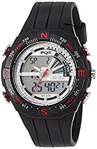 Ego by Maxima Analog-Digital Silver Dial Men's Watch - E-35080PPAN