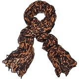 BIRCH's Oversized Leopard Fashion Scarf Cheetah Pattern Shawl Animal Print Scarves