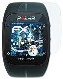 M400 Polar Best Deals - 3 x atFoliX Anti-Shock Pellicola protettiva Polar M400 Pellicola Proteggi - FX-Shock-Clear