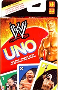 WWE Wrestling UNO Card Game