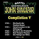 John Sinclair Compilation V: Band 1720 - 1724 Hörbuch von Jason Dark Gesprochen von: Carsten Wilhelm