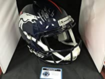 Von Miller Signed Autographed Denver Broncos Speed Revolution Full Size Helmet COA & Hologram