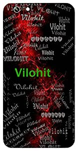 Vilohit (Lord Shiva) Name & Sign Printed All over customize & Personalized!! Protective back cover for your Smart Phone : Moto G3 ( 3rd Gen )