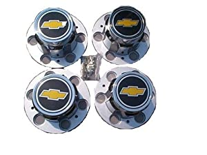 6 lug Chevy Truck Rally wheel bowtie center caps Fits 60's to 1987 old style rally wheels