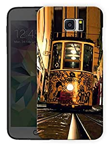 "Humor Gang Tram Graffiti Printed Designer Mobile Back Cover For ""Samsung Galaxy Note 5"" (3D, Matte, Premium Quality Snap On Case)"