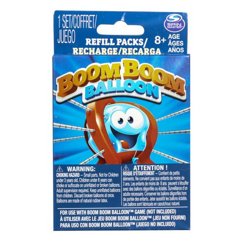 Spinmaster Games Boom Boom Balloon Refills Game