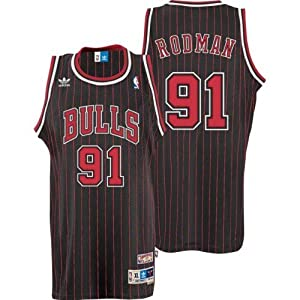 Chicago Bulls #91 Dennis Rodman NBA Soul Swingman Jersey, Black by adidas