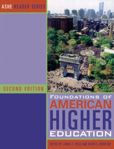 Foundations of American Higher Education (2nd Edition)