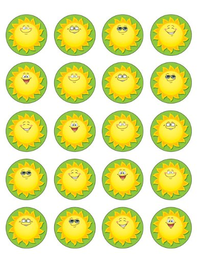 Teacher Created Resources Happy Suns Stickers (5464)