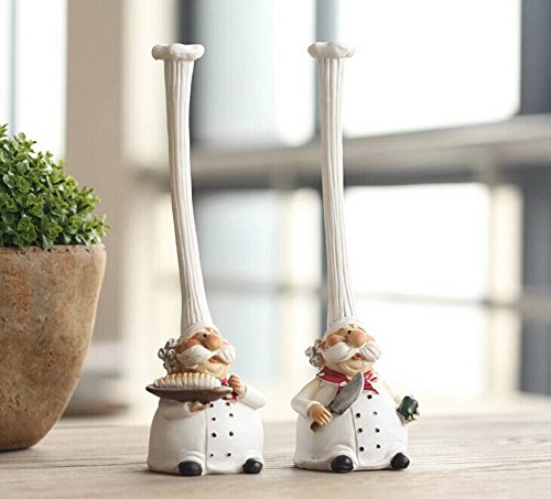 Pastoral Home Furnishing Decor Resin Decoration--The Chef Hat