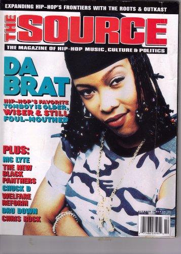 The Source Magazine October 1996 No. 85 (Da Brat! Hip-Hop's favorite Tomboy is older, Wiser & still foul-mouthed!) PDF