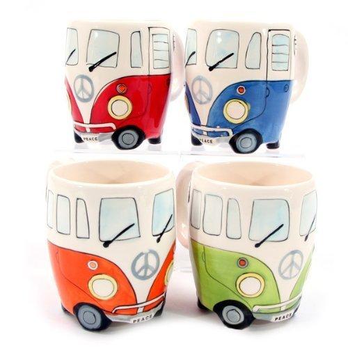 Ceramic Camper Van Mug (assortimento)