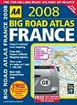 AA 2008:Big Road Atlas France