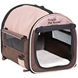 Petmate Portable Pet Home, Small, Dark Taupe/Coffee Grounds Brown