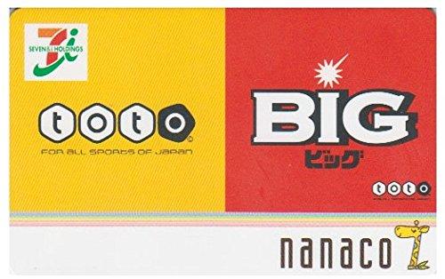 セブンイレブン nanacoカード 【 toto-BIG 】   ( 2011年8月 )