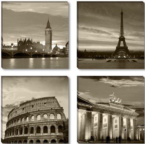cuadro-en-lienzo-4x30-x-30-cm-nr-6604-las-ciudades-de-londres-paris-roma-berlin-enmarcado-y-listo-pa