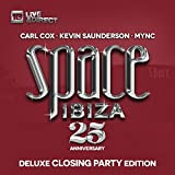 Space Ibiza 2014 (25th Anniversary) Deluxe Closing Party Edition (Mixed By Carl Cox, Kevin Saunderson & Mync)
