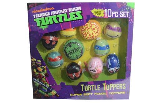 Teenage Mutant Ninja Turtles Soft Pencil Toppers - 1