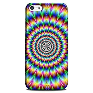 Abhivyakti Psychedlic psychedelic Maze Hard Back Case Cover For Apple Iphone 4/4s
