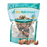 Premium 5-6 Inch Thick Curly Bully Sticks by Best Bully Sticks (12 Pack)