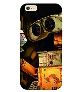Evaluze wall e Printed Back Cover for APPLE IPHONE 6