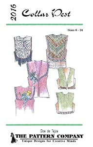 Amazon.com: Patterns - Dos de Tejas #2016, Collar Vest