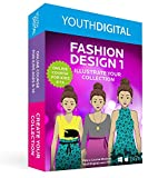 Fashion Design 1 - Kids Ages 8-14 Learn to Design & Illustrate Their Own Fashion Collection (PC & Mac)