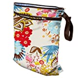 Planet Wise Wet/Dry Bag, April Flowers