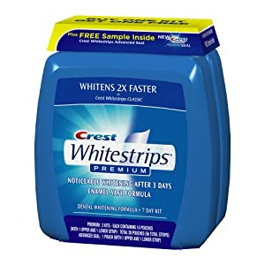 Sample crest white strips