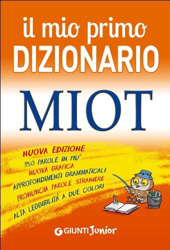 Il mio primo dizionario MIOT PDF