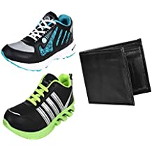 Earton Men COMBO Pack Of Sports Shoe With Wallet
