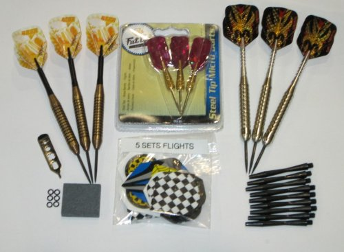 New Closeout Inventory Liquidation - Darts Shafts, Stone, Flights, Tool - Lot 8