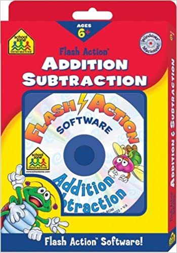 Addition And Subtraction Flash Action Software (School Zone ...