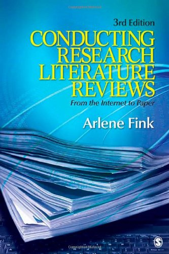 Conducting Research Literature Reviews: From the Internet...