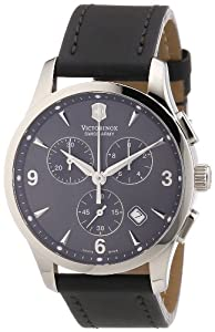 Victorinox Swiss Army Men's 241479 Alliance Black Chronograph Dial Watch