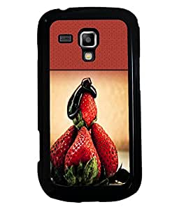 Fuson 2D Printed Fruit Designer back case cover for Samsung Galaxy S Duos S7562 - D4489